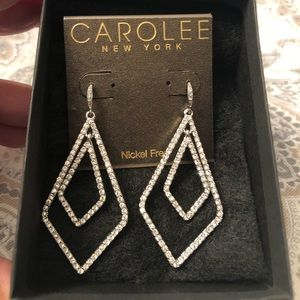 CAROLEE New York 💎Bling💎 Earrings NWT